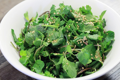 Fresh Coriander Salad
